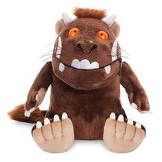 Official 9 Inch The Gruffalo Sitting Soft Plush Toy For Ages 3 Years + The Gruffalo, Cute Stationery, Toy Store, Cuddling, Hello Kitty, Plush, Teddy Bear, Dolls, Fun