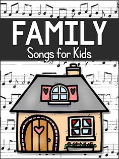 Kids' songs about family and homes: preschool, pre-k, kindergarten. Use whil… – family activities Preschool Family Theme, Preschool Music, Preschool Lesson Plans, Preschool At Home, Family Activities, Preschool Activities, Family Crafts, Preschool Classroom, Preschool Worksheets