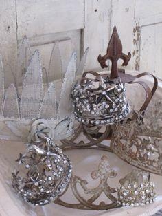 Beautiful, bling crowns