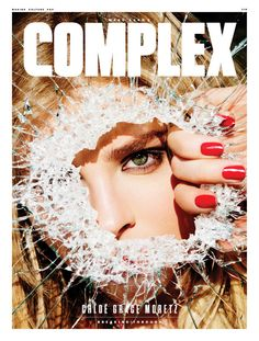 CHLOE MORETZ in Complex Magazine, April/May 2016 Issue