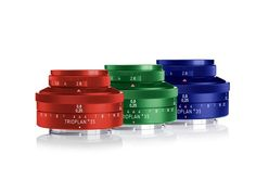 Meyer Optik Trioplan 35 Kickstarter unlocks colorful lens trio reward