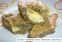 Vaníliapudingos mákos bögrés Torte Cake, Hungarian Recipes, Hungarian Food, Kefir, Pound Cake, Cake Cookies, Bagel, Avocado Toast, Cooking Tips