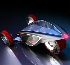 Peugeot Aureon, Future Three-Wheeler Vehicle, Cristian Polanco