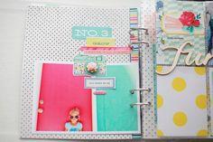 dear lizzy polka dot party - mini album get american crafts dear lizzy at #craftysteals