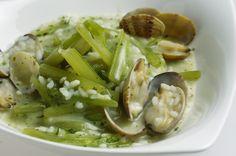 Arroz con borrajas y almejas - Gastronomía Aragonesa
