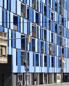 Social housing Almogàvers 215-229 | AdM architects | 2011 | Barcelona #Barcelona #architecture