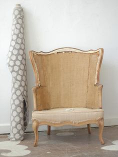 The Magic of Reupholstery: A Family Living Room Gets New Life.  By Jeanine Hays of AphroChic. Photographs by Leon Shipp Belt.