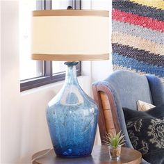 Artisan Glass Table Lamp