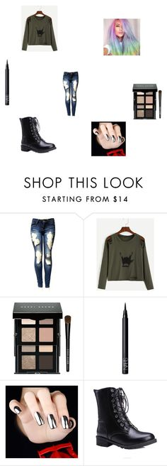 """""""Untitled #218"""" by fallinginreverserocks ❤ liked on Polyvore featuring Bobbi Brown Cosmetics and NARS Cosmetics"""