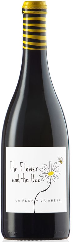 The Flower and the Bee so sweet #wine #packaging PD wine / vinho / vino mxm