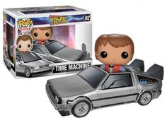 Funko Pop! - Delorean mit Marty 02 - Funko Pop! van Back To The Future