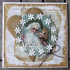 Et lille julehus   julekort