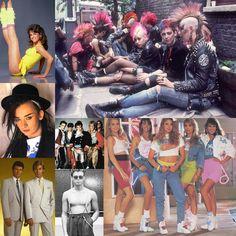 ảnh hưởng của punk đã làm thay đổi văn hóa cũng như cách ăn mặc của một bộ phận giới trẻ lúc bấy giờ, những bộ tóc cá tính được nhuộm màu, những chiếc quần bò, áo denim đính đinh dần trở nên qune thuộc.