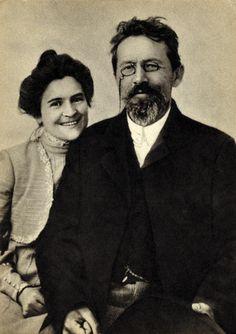 Anton Chekhov (INFP) and Olga Knipper