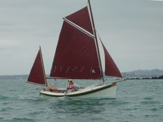 Houdini by John Welsford (LOA: m). Serious, a sailing dinghy with space to sleep two or daysail four. Specs, plans, building logs, photo and video gallery. Sailing Dinghy, Sailing Boat, Wooden Boats, Sailboats, Ships, Sleep, Space, Wood Boats, Sailing Yachts