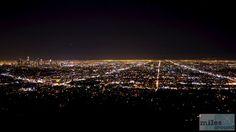 Lichtermeer - Check more at https://www.miles-around.de/nordamerika/usa/kalifornien/schnelles-sightseeing-in-los-angeles/,  #AvenueoftheStars #Essen #HollywoodSign #Kalifornien #Malibu #Reisebericht #USA