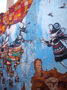 "Urban art Shots: Skount ""Goodbye Almagro"" : Distorsion Urbana"