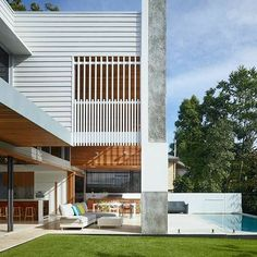 Corner House: A Contemporary Home With Three Courtyards Australian  Architecture, Australian Homes, Residential