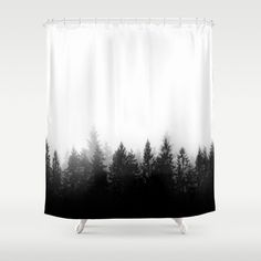Stop neglecting bathroom decor - our designer Shower Curtains bring a fresh new feel to an overlooked space. Hookless and extra long, these bathroom curtains feature crisp and colorful prints on the front, with a white reverse side. Bird Shower Curtain, Bathroom Shower Curtains, Bath Shower, Master Bathroom, Contemporary Shower, Hippie Home Decor, Hippie House, Misty Forest, Bath Girls