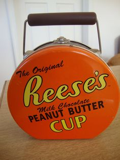 antique lunch boxes | Vintage Reese's Tin Lunch Box by CrimsonVintique on Etsy