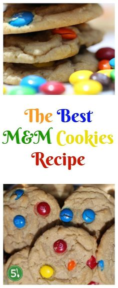 Best M&M cookie recipe for learning how to make soft and chewy M&M cookies that are easy and quick to whip up.  I make this recipe every month - my family loves it!