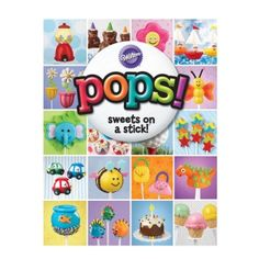 This Wilton Cake Pop Ideas Book has over 100 pages of inspiring recipes and pictures. Wilton Cake Pop Ideas Book has pops for a variety of occasions and themes! Cake Pops, Raspberry Smoothie, Apple Smoothies, Buckwheat Cake, Zucchini Cake, Wilton Cakes, Keto, Quiz, Roasted Peppers