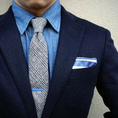 The Dressed Chest(Rainier Jonn) almost exclusively... | MenStyle1- Men's Style Blog