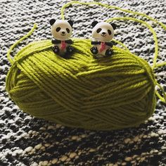 HiyaHiya Panda Li Point Protectors ust look at these two! ❤️ #yarn #wool #HiyaHiya#knitting #knittingneedles ---the picture is from HiyaHiya Europe on Facebook