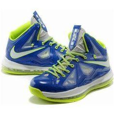 blue lebrons 10
