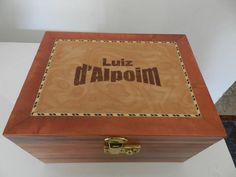 Marquetry - Marchetaria (wood work - Box)