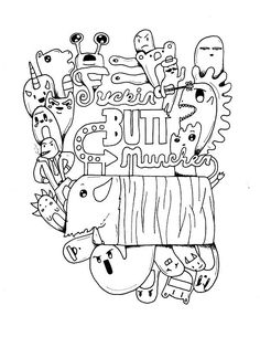 Swear Word Coloring Books Elegant buttmuncher Adult Coloring Page Swear 14 Free Printable Coloring Pages Visit Bear Coloring Pages, Truck Coloring Pages, Free Adult Coloring Pages, Coloring Pages To Print, Free Printable Coloring Pages, Coloring Books, Coloring Sheets, Colouring, Swear Word Coloring Book