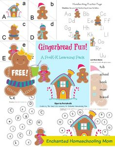 Gingerbread Learning Pack