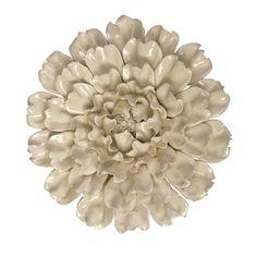 Isabella Large Ceramic Flower Wall Decor