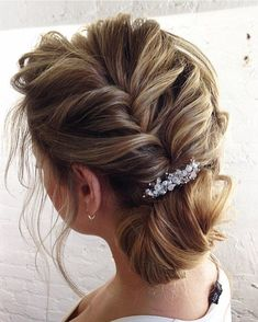 hair styles for college side updo for bridal hair by cortney mann 7956