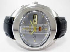 VINTAGE GENTS RICOH AUTOMATIC DAY-DATE 21 JEWELS MENS WRIST WATCH RIC-2 #RICOH…