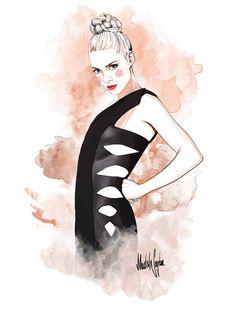 ///Mustafa Soydan Fashion illustrations