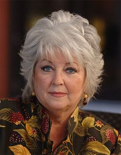 paula+deen+hairstyles+photos | Paula Deen hit in face by ham (video)