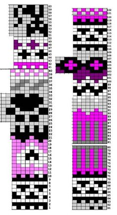 Diy Crafts - VK is the largest European social network with more than 100 million active users. Fair Isle Knitting Patterns, Knitting Charts, Knitting Stitches, Knit Patterns, Knitting Socks, Motif Fair Isle, Fair Isle Chart, Fair Isle Pattern, Cross Stitch Pattern Maker