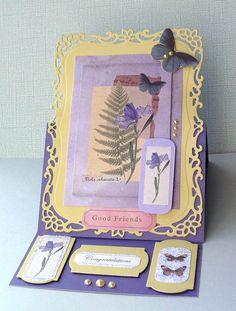 card - buterfly