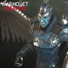 Archangel - Marmoset Viewer, Georgian Avasilcutei on ArtStation at https://www.artstation.com/artwork/archangel-marmoset-viewer