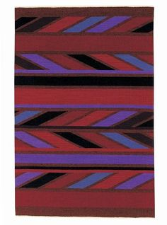 Woven Spirits Navajo Andante Red Area Rug