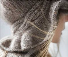 Designed by Nathalie O'Shea in Kauri Yarn.Designed by Nathalie O'Shea in Kauri Yarn. Crochet Yarn, Knitting Yarn, Hand Knitting, Knitting Patterns, Ravelry, Mittens Pattern, Scarf Hat, Head And Neck, Knitting Accessories