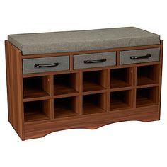 Household Essentials® Entryway Shoe Storage Bench