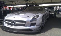 2011 Mercedes Benz SLS GT3 Goodwood Festival