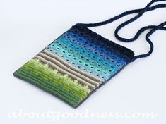 Crochet Bag Pattern and Broomstick Crochet Tutorial