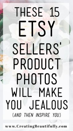 These 15 Etsy Sellers' Product Photos Will Make You Jealous (and then inspire you!) Check them out and learn how to step up your Etsy product photography. Business Coach, Business Tips, Online Business, Finance Business, Step Up, Craft Business, Creative Business, Starting An Etsy Business, Etsy Seo