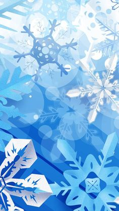 Snowflakes HD iPhone 6 plus wallpaper for 2014 Christmas