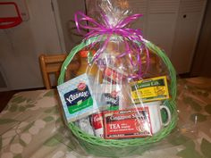 See How Popcorn & Pearls makes an awesome Get-Well Gift Basket featuring Kleenex. Cheap Gift Baskets, Get Well Gift Baskets, Get Well Gifts, Cheap Gifts, Cute Gifts, Best Gifts, Raffle Baskets, Fundraiser Baskets, Unique Christmas Gifts