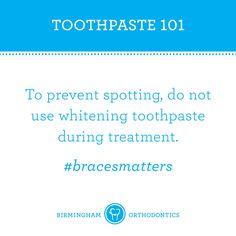 Braces tips. Whiten AFTER braces.
