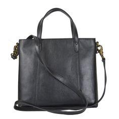Things Terrifc Full Grain Leather Black Tote Sling Bag BNWT 40% off!! RRP $249